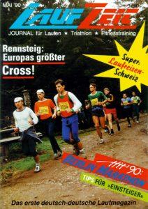 Erstausgabe der LAUFZEIT 5/1990
